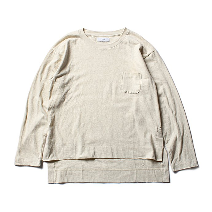 THEE THEE(シー)/ カットソー Slit VC-CS-03 - Cream 01