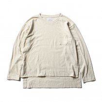 THEE THEE(シー)/ カットソー Slit VC-CS-03 - Cream