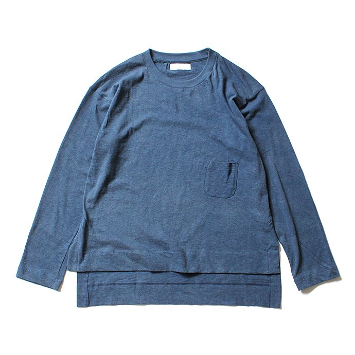 THEE THEE(シー)/ カットソー Slit VC-CS-03 - Navy 01