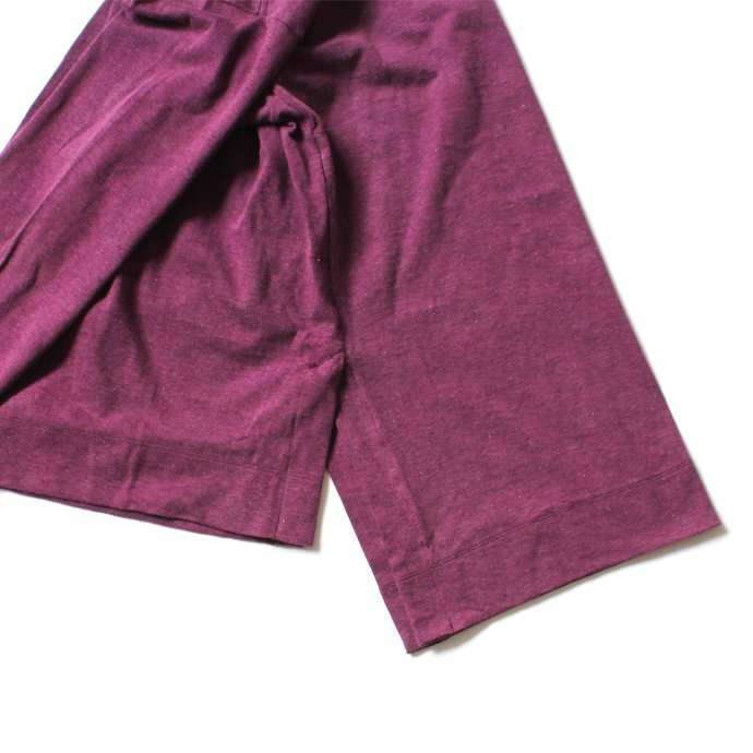THEE THEE(シー)/ カットソー Slit VC-CS-03 - Burgundy<img class='new_mark_img2' src='//img.shop-pro.jp/img/new/icons20.gif' style='border:none;display:inline;margin:0px;padding:0px;width:auto;' /> 02