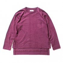 THEE THEE(シー)/ カットソー Slit VC-CS-03 - Burgundy