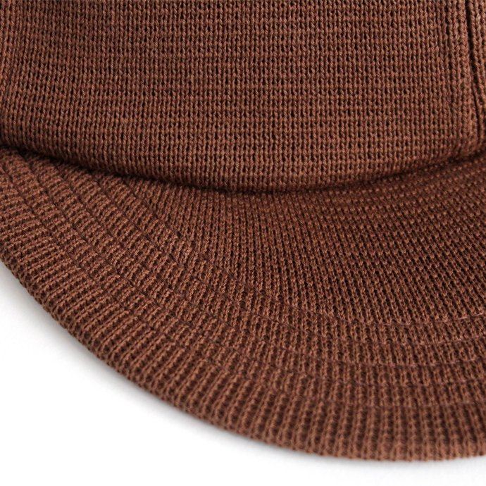 crepuscule B.B.Cap 1703-016 Brown ニットベースボールキャップ ブラウン<img class='new_mark_img2' src='//img.shop-pro.jp/img/new/icons47.gif' style='border:none;display:inline;margin:0px;padding:0px;width:auto;' /> 02