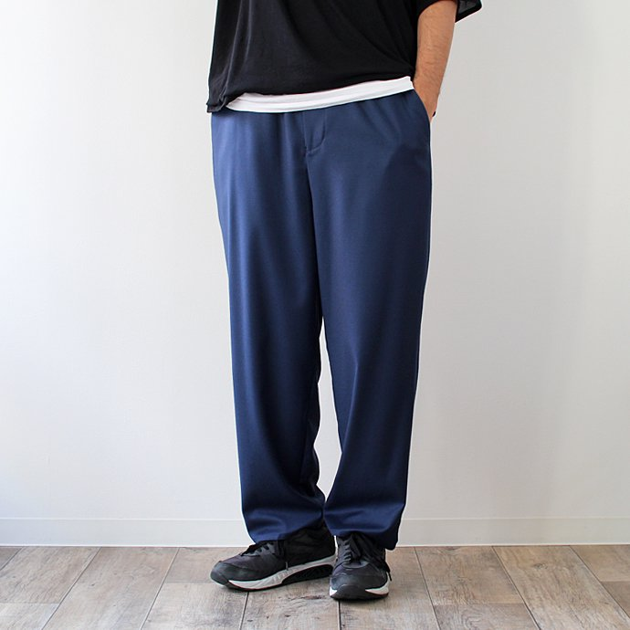 THEE THEE(シー)/ tapered easy slacks テーパード イージースラックス MT-PT-03 - Blue 01