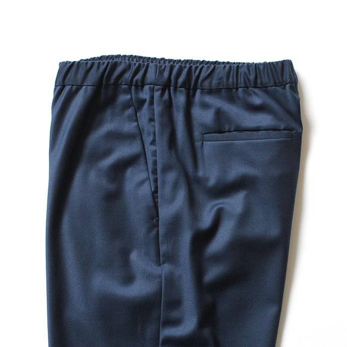 THEE THEE(シー)/ tapered easy slacks テーパード イージースラックス MT-PT-03 - Blue 02