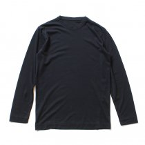 smoothday(スムースデイ) メンズ ディオラマ スムース クルーネック長袖Tシャツ SH-T053-002 Navy<img class='new_mark_img2' src='//img.shop-pro.jp/img/new/icons47.gif' style='border:none;display:inline;margin:0px;padding:0px;width:auto;' />