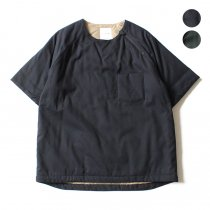 STILL BY HAND / シンサレート中綿入り半袖プルオーバー BL0273 - 全2色<img class='new_mark_img2' src='//img.shop-pro.jp/img/new/icons47.gif' style='border:none;display:inline;margin:0px;padding:0px;width:auto;' />