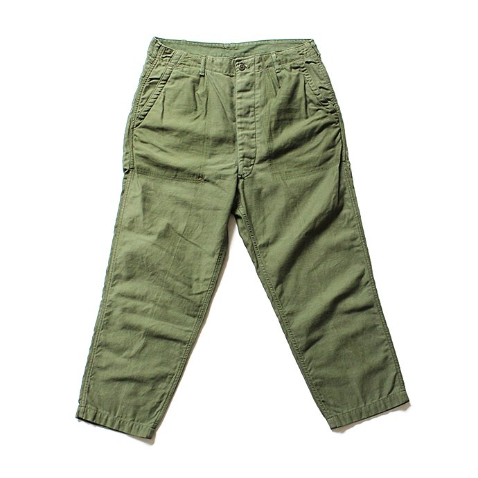 Hexico Deformer 1-Tucks U.S. Army 70s Utility Pants リメイクワンタックユーテリティパンツ 01<img class='new_mark_img2' src='//img.shop-pro.jp/img/new/icons47.gif' style='border:none;display:inline;margin:0px;padding:0px;width:auto;' /> 01