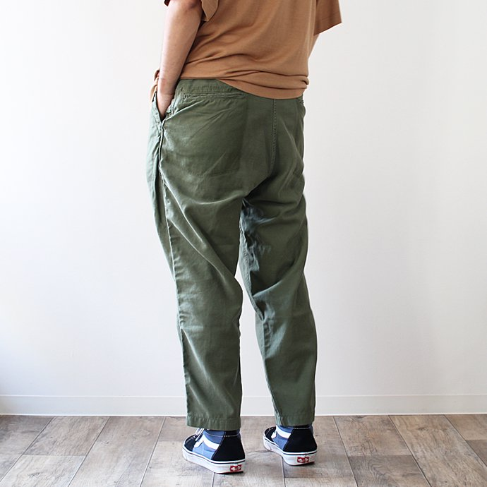 Hexico Deformer 1-Tucks U.S. Army 70s Utility Pants リメイクワンタックユーテリティパンツ 01<img class='new_mark_img2' src='//img.shop-pro.jp/img/new/icons47.gif' style='border:none;display:inline;margin:0px;padding:0px;width:auto;' /> 02