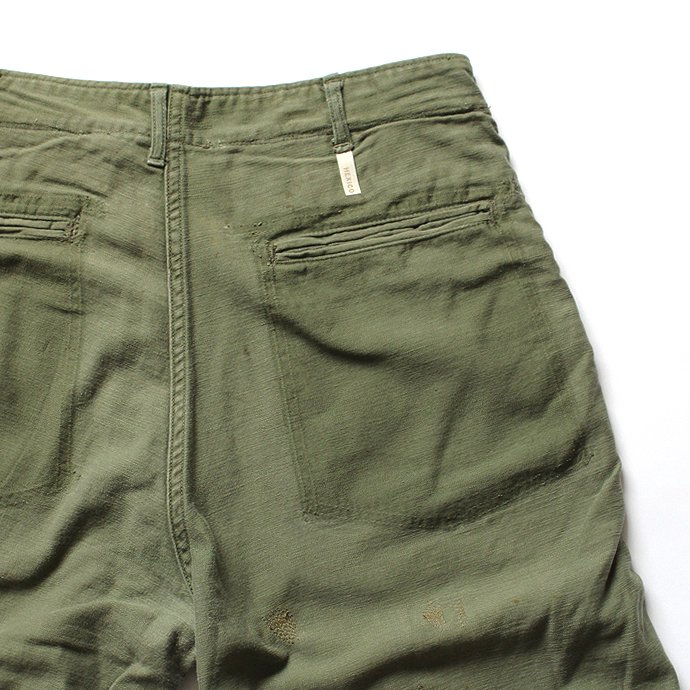 Hexico Deformer 1-Tucks U.S. Army 70s Utility Pants リメイクワンタックユーテリティパンツ 02<img class='new_mark_img2' src='//img.shop-pro.jp/img/new/icons47.gif' style='border:none;display:inline;margin:0px;padding:0px;width:auto;' /> 02