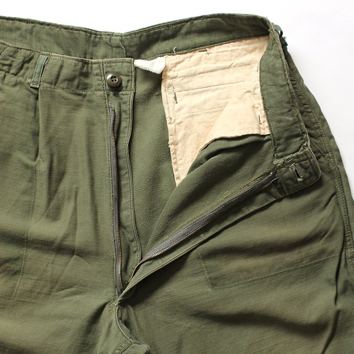 121905876 Hexico / Deformer 1-Tucks U.S. Army 70s Utility Pants リメイクワンタックユーテリティパンツ 03<img class='new_mark_img2' src='//img.shop-pro.jp/img/new/icons47.gif' style='border:none;display:inline;margin:0px;padding:0px;width:auto;' /> 02