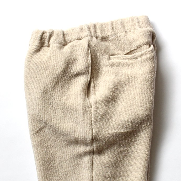 blurhms blurhms / Tweed Fleece Pants BHS-C17FW20 - Ivory 02