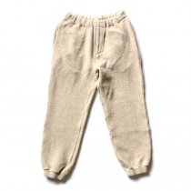 blurhms blurhms / Tweed Fleece Pants BHS-C17FW20 - Ivory ツイードフリースパンツ アイボリー