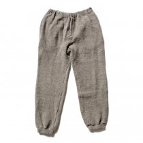 blurhms blurhms / Tweed Fleece Pants BHS-C17FW20 - C.Grey ツイードフリースパンツ グレー