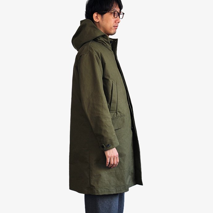 STILL BY HAND シンサレートライナー付きフーデッドコート CO0173 - 全2色<img class='new_mark_img2' src='//img.shop-pro.jp/img/new/icons47.gif' style='border:none;display:inline;margin:0px;padding:0px;width:auto;' /> 02