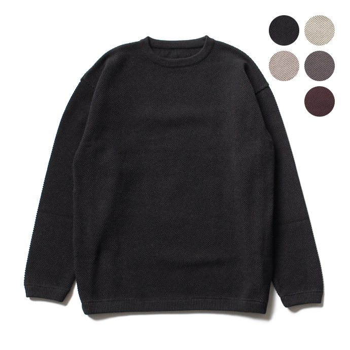 122932740 crepuscule / Moss Stitch L/S 鹿の子編みクルーネックプルオーバー 1703-002 全5色<img class='new_mark_img2' src='//img.shop-pro.jp/img/new/icons47.gif' style='border:none;display:inline;margin:0px;padding:0px;width:auto;' /> 01