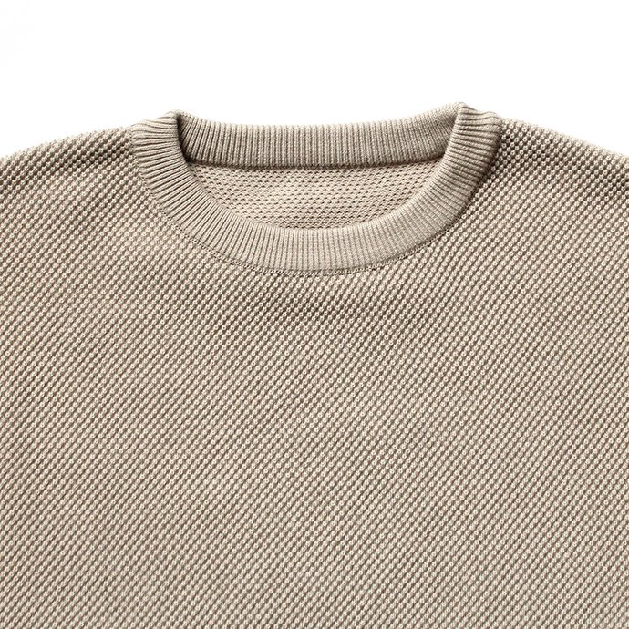 122932740 crepuscule / Moss Stitch L/S 鹿の子編みクルーネックプルオーバー 1703-002 全5色<img class='new_mark_img2' src='//img.shop-pro.jp/img/new/icons47.gif' style='border:none;display:inline;margin:0px;padding:0px;width:auto;' /> 02