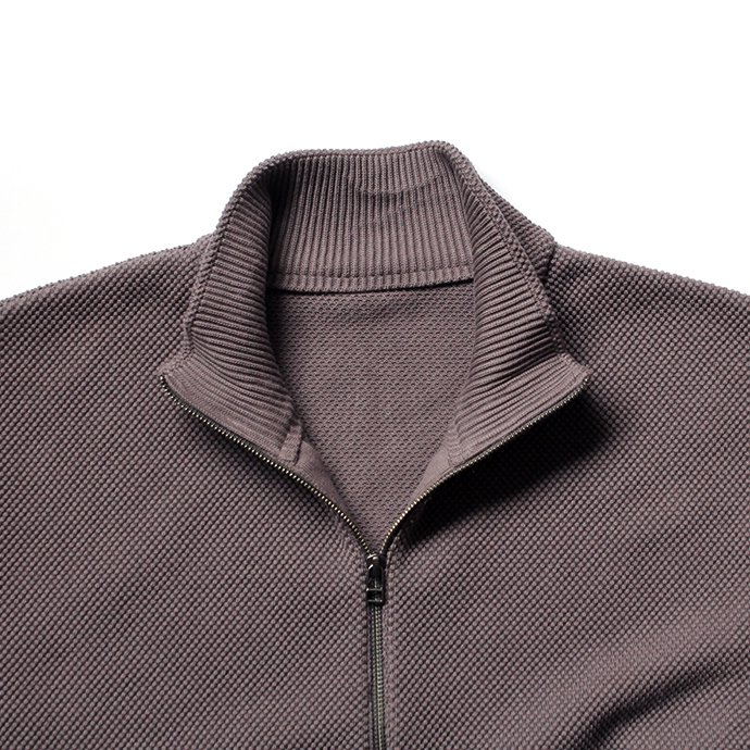 122954214 crepuscule / Moss Stitch Zip Cardigan 鹿の子編みジップフロントカーディガン 1703-004 全4色<img class='new_mark_img2' src='//img.shop-pro.jp/img/new/icons47.gif' style='border:none;display:inline;margin:0px;padding:0px;width:auto;' /> 02