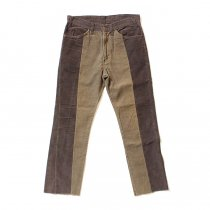 Hexico / Deformer Pants - Ex. U.S. Corduroy リメイクコーデュロイパンツ - 33 ブラウン
