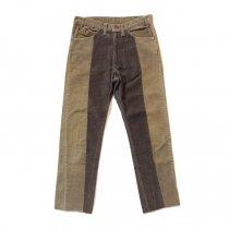 Hexico / Deformer Pants - Ex. U.S. Corduroy リメイクコーデュロイパンツ - 33 ベージュ