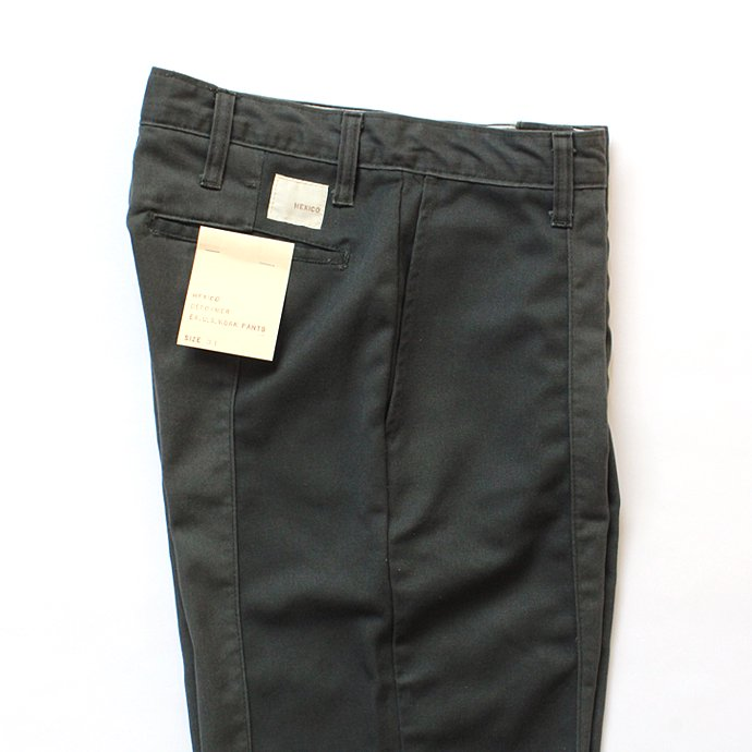 123397272 Hexico / Deformer Pants - Ex. U.S. Work Pants リメイクワークパンツ - 31 オリーブ 02