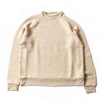 blurhms BHS-C17FW19 Tweed Fleece Bottle-Neck - Ivory ツイードフリースボトルネック アイボリー<img class='new_mark_img2' src='//img.shop-pro.jp/img/new/icons47.gif' style='border:none;display:inline;margin:0px;padding:0px;width:auto;' />