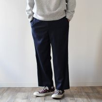THEE straight easy slacks ストレート イージースラックス MD-PT-02 - STRIPE