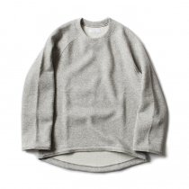 THEE(シー)/ w-face crewneck knit ダブルフェイスクルーネックニット DF-KT-01 Gray<img class='new_mark_img2' src='//img.shop-pro.jp/img/new/icons47.gif' style='border:none;display:inline;margin:0px;padding:0px;width:auto;' />