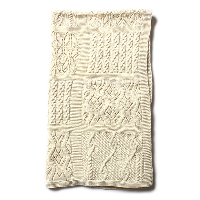 Other Brands Blarney Woollen Mills(ブラーニー ウーレンミルズ) / Lace Patchwork Throw レースパッチワークスロー ひざ掛け<img class='new_mark_img2' src='//img.shop-pro.jp/img/new/icons47.gif' style='border:none;display:inline;margin:0px;padding:0px;width:auto;' /> 01