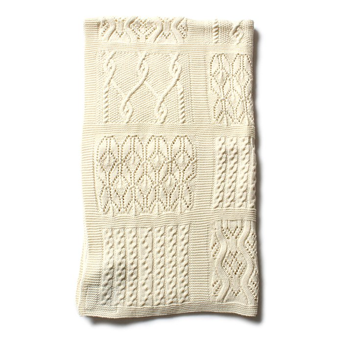 Other Brands Blarney Woollen Mills(ブラーニー ウーレンミルズ) / Lace Patchwork Throw レースパッチワークスロー ひざ掛け<img class='new_mark_img2' src='//img.shop-pro.jp/img/new/icons47.gif' style='border:none;display:inline;margin:0px;padding:0px;width:auto;' /> 02