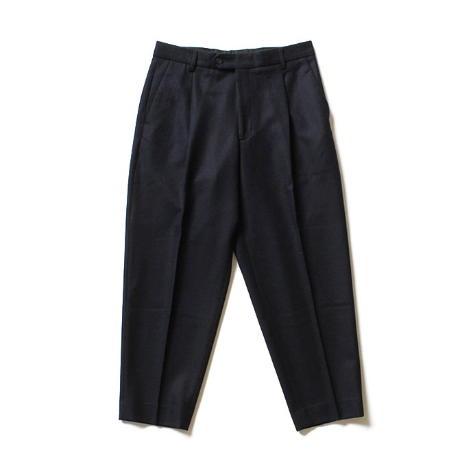 124833598 CEASTERS / 1 Pleat Trousers ワンタックウールパンツ - ネイビー<img class='new_mark_img2' src='//img.shop-pro.jp/img/new/icons47.gif' style='border:none;display:inline;margin:0px;padding:0px;width:auto;' /> 01