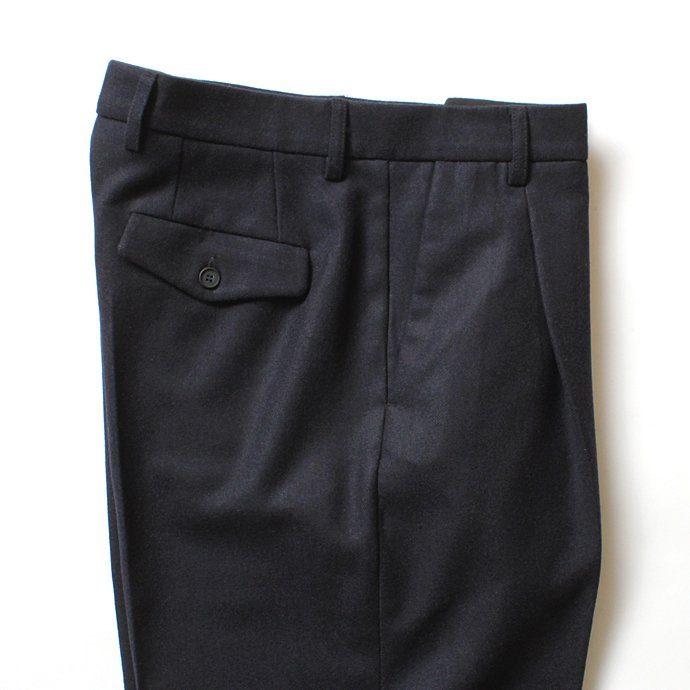 124833598 CEASTERS / 1 Pleat Trousers ワンタックウールパンツ - ネイビー<img class='new_mark_img2' src='//img.shop-pro.jp/img/new/icons47.gif' style='border:none;display:inline;margin:0px;padding:0px;width:auto;' /> 02