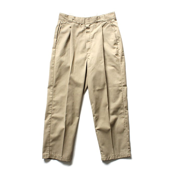125482937 Hexico / Deformer Ex. U.S. Dickies リメイクワンタックワークパンツ - ベージュ<img class='new_mark_img2' src='//img.shop-pro.jp/img/new/icons47.gif' style='border:none;display:inline;margin:0px;padding:0px;width:auto;' /> 01
