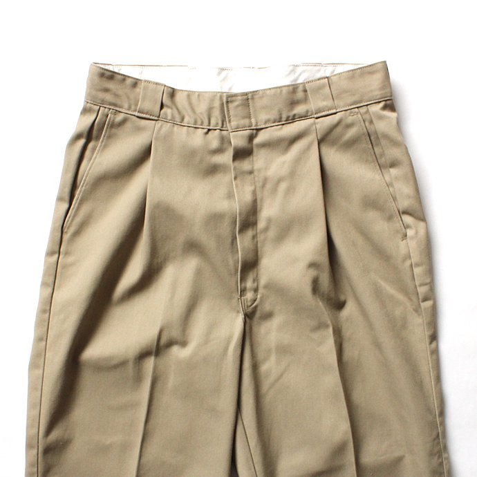 125482937 Hexico / Deformer Ex. U.S. Dickies リメイクワンタックワークパンツ - ベージュ<img class='new_mark_img2' src='//img.shop-pro.jp/img/new/icons47.gif' style='border:none;display:inline;margin:0px;padding:0px;width:auto;' /> 02