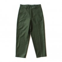 No Pleat Wide Trousers ノータックウールパンツ - オリーブ<img class='new_mark_img2' src='//img.shop-pro.jp/img/new/icons47.gif' style='border:none;display:inline;margin:0px;padding:0px;width:auto;' />