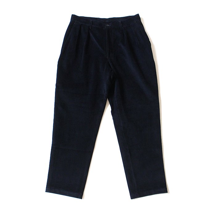 125807071 CEASTERS / 2 Pleats Corduroy Trousers ツータックコーデュロイパンツ - ネイビー<img class='new_mark_img2' src='//img.shop-pro.jp/img/new/icons47.gif' style='border:none;display:inline;margin:0px;padding:0px;width:auto;' /> 01