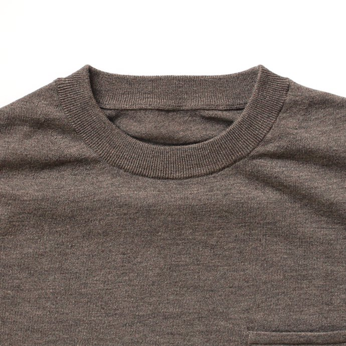 126481213 crepuscule / wool L/S knit tee ウール ロングスリーブ ニットTシャツ 全2色 1704-002<img class='new_mark_img2' src='//img.shop-pro.jp/img/new/icons20.gif' style='border:none;display:inline;margin:0px;padding:0px;width:auto;' /> 02