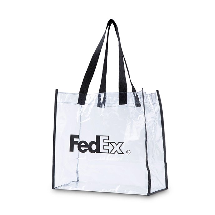 127416499 FedEx / Clear Vinyl Stadium Bag ビニールクリアバッグ<img class='new_mark_img2' src='//img.shop-pro.jp/img/new/icons47.gif' style='border:none;display:inline;margin:0px;padding:0px;width:auto;' /> 01