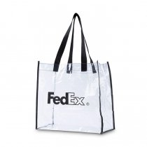 FedEx / Clear Vinyl Stadium Bag ビニールクリアバッグ<img class='new_mark_img2' src='//img.shop-pro.jp/img/new/icons47.gif' style='border:none;display:inline;margin:0px;padding:0px;width:auto;' />