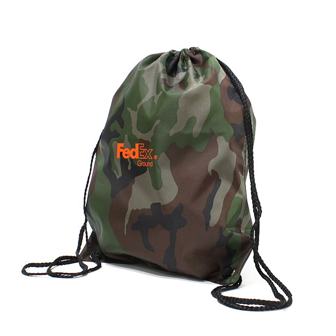 Other Brands FedEx / FedEx Ground Drawstring Pack フェデックス ナップサック - カモ 02