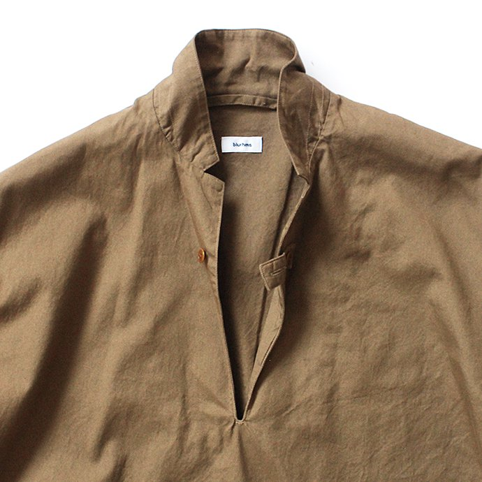 127510704 blurhms / Soft Ox Tailored Pullover Shirt BHS-18SS008 - Camel 02