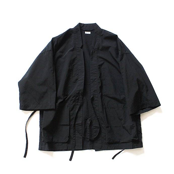 127510980 blurhms / Nylon Kendo Jacket BHS-18SS007 - Black 02