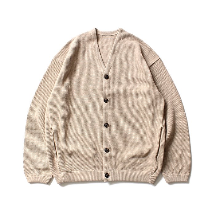 crepuscule moss stitch cardigan 1801-002 Beige 鹿の子編みカーディガン ベージュ<img class='new_mark_img2' src='//img.shop-pro.jp/img/new/icons47.gif' style='border:none;display:inline;margin:0px;padding:0px;width:auto;' /> 02
