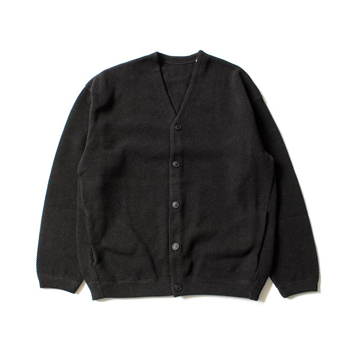 127777707 crepuscule / moss stitch cardigan 1801-002 C.Gray 鹿の子編みカーディガン チャコール<img class='new_mark_img2' src='//img.shop-pro.jp/img/new/icons47.gif' style='border:none;display:inline;margin:0px;padding:0px;width:auto;' /> 02