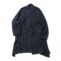 THEE oversize gown PV-CO-04 オーバーサイズガウン Navy
