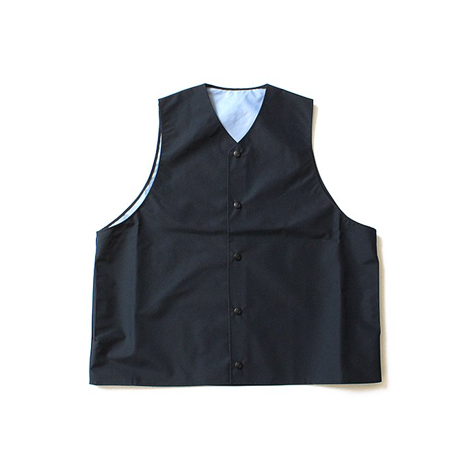 127891648 Powderhorn Mountaineering / Mountain Vest 3Lナイロンシェルベスト PH18SS-005 - Navy  01
