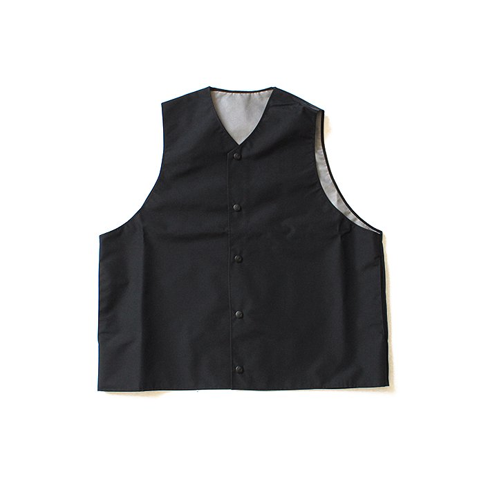 127891745 Powderhorn Mountaineering / Mountain Vest 3Lナイロンシェルベスト PH18SS-005 - Black 01