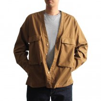 blurhms / Soft Ox Utility Collarless Jacket BHS-18SS014 - Camel<img class='new_mark_img2' src='//img.shop-pro.jp/img/new/icons47.gif' style='border:none;display:inline;margin:0px;padding:0px;width:auto;' />