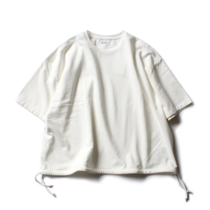 blurhms French Terry Huge Tee BHS-18SS021 - Off 01