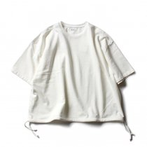 blurhms / French Terry Huge Tee BHS-18SS021 - Off