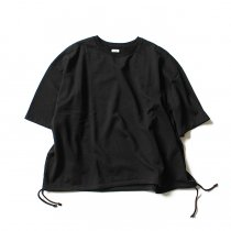 blurhms / French Terry Huge Tee BHS-18SS021 - Black<img class='new_mark_img2' src='//img.shop-pro.jp/img/new/icons47.gif' style='border:none;display:inline;margin:0px;padding:0px;width:auto;' />